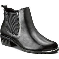 Buty zimowe damskie: Sztyblety CAPRICE - 9-25413-29 Black Nappa 022