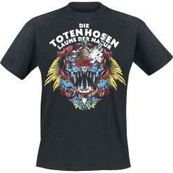 Die Toten Hosen Laune der Natur T-Shirt czarny. Czarne t-shirty męskie z nadrukiem Die Toten Hosen, l, z okrągłym kołnierzem. Za 79,90 zł.