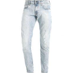 GStar 3301 DECONSTRUCTED SUPER SLIM Jeansy Slim Fit elto superstretch. Szare jeansy męskie relaxed fit marki G-Star, m, z bawełny. W wyprzedaży za 362,45 zł.