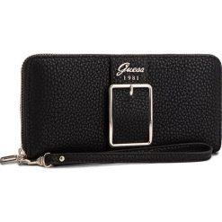 Duży Portfel Damski GUESS - SWBS70 95460  BLA. Niebieskie portfele damskie marki Guess, z materiału. Za 279,00 zł.