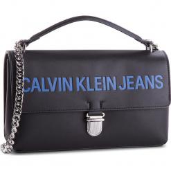 Torebka CALVIN KLEIN JEANS - Sculpted Flap 13.5 E K40K400387 001. Niebieskie torebki klasyczne damskie marki Calvin Klein Jeans. Za 599,00 zł.