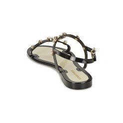 Sandały Sonia Rykiel  663180-T. Czarne sandały damskie Sonia Rykiel. Za 769,30 zł.