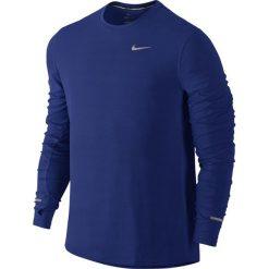 Koszulka do biegania męska NIKE DRI-FIT CONTOUR LONGSLEEVE / 683521-455 - NIKE DRI-FIT CONTOUR LONGSLEEVE. Niebieskie t-shirty męskie Nike, m, z długim rękawem, do biegania, dri-fit (nike). Za 139,00 zł.