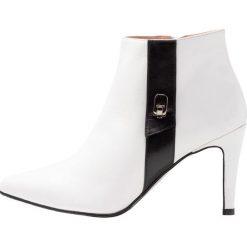 Brenda Zaro ISNESBO Ankle boot blanco. Białe botki damskie skórzane Brenda Zaro. Za 629,00 zł.