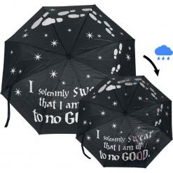 Harry Potter Marauder's Map Parasol standard. Szare parasole marki Harry Potter. Za 74,90 zł.