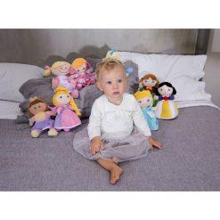 Przytulanki i maskotki: Trudi - Lalka przytulanka w niebieskiej sukience