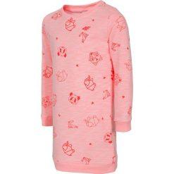 Sukienki dziewczęce: Sukienka dla małych dziewczynek JSUDD103 – jasny róż melanż