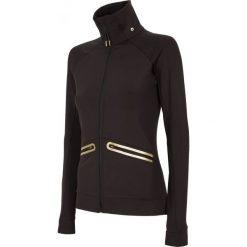 Bluzy rozpinane damskie: Bluza treningowa damska BLDF100 - czarny