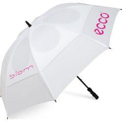 Golfy męskie: ECCO Golf Umbrella – Biały – 98,5 Cm – Akcesoria