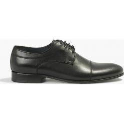 Półbuty wizytowe czarne Fausto. Czarne buty wizytowe męskie Badura. Za 329,99 zł.
