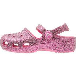 Crocs KARIN SPARKLE Sandały kąpielowe multicolor/pink. Czerwone sandały chłopięce marki Crocs, z gumy. Za 149,00 zł.