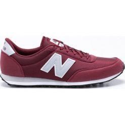 New Balance - Buty U410BUG. Brązowe buty skate męskie New Balance, z materiału, na sznurówki. W wyprzedaży za 229,90 zł.