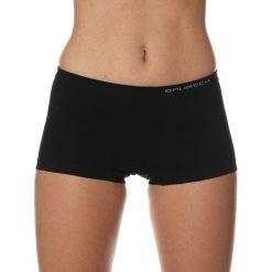 Bokserki damskie: Brubeck Bokserki damskie Comfort Cotton czarne r.L (BX10470A)