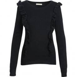 Czarny Sweter Hold You. Czarne swetry klasyczne damskie marki Born2be, na jesień, l. Za 29,99 zł.