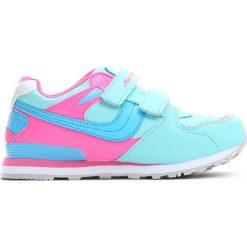 Niebieskie Buty Sportowe Go Up. Niebieskie buty sportowe dziewczęce marki Born2be, z materiału, z okrągłym noskiem. Za 59,99 zł.