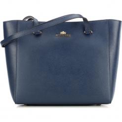 Torebka damska 87-4-703-N. Niebieskie shopper bag damskie Wittchen, na ramię. Za 299,00 zł.