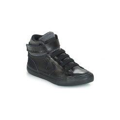 Buty Dziecko Converse  PRO BLAZE STRAP LEATHER HI. Czarne trampki chłopięce marki Converse. Za 239,00 zł.