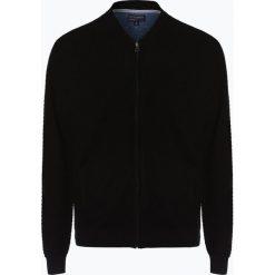 Nils Sundström - Kardigan męski, czarny. Czarne swetry rozpinane męskie Nils Sundström, l, eleganckie. Za 229,95 zł.