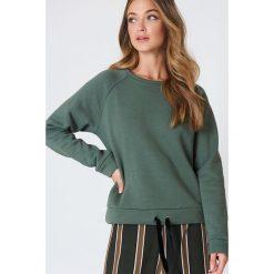 Bluzy damskie: Minimum Bluza Timian – Green