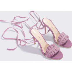 Szpilki: Lavish Alice Szpilki z marszczeniem – Pink