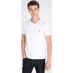 Lacoste Tshirt basic white. Białe t-shirty chłopięce Lacoste, z bawełny. Za 169,00 zł.