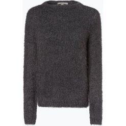 Comma casual identity - Sweter damski z dodatkiem alpaki, szary. Szare swetry klasyczne damskie comma casual identity, l, z dzianiny, z klasycznym kołnierzykiem. Za 299,95 zł.