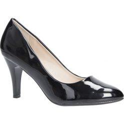 Czarne czółenka na obcasie Casu B-42. Czarne buty ślubne damskie Casu, na obcasie. Za 69,99 zł.