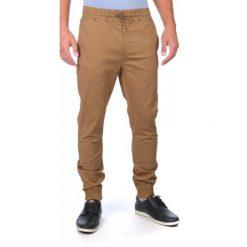 Globe Spodnie Męskie Goodstock Jogger 30 Brązowy. Brązowe joggery męskie marki Globe, z jeansu. W wyprzedaży za 179,00 zł.