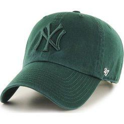 47brand - Czapka New York Yankees Clean Up. Szare czapki z daszkiem męskie 47brand. Za 89,90 zł.