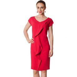 Sukienki hiszpanki: Sukienka w kolorze fuksji
