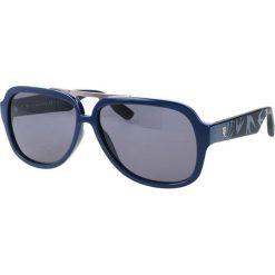"""Okulary przeciwsłoneczne męskie aviatory: Okulary przeciwsłoneczne """"0021/S RND/Y1"""" w kolorze czarnym"""