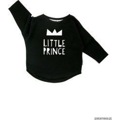 Bluza Little Prince - czarny. Czarne bluzy dziewczęce rozpinane marki Pakamera, z bawełny. Za 60,00 zł.