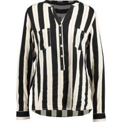 Bluzki asymetryczne: Soft Rebels Bluzka black print