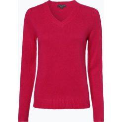 Franco Callegari - Damski sweter z wełny merino, różowy. Czerwone swetry klasyczne damskie Franco Callegari, l, z dzianiny. Za 229,95 zł.