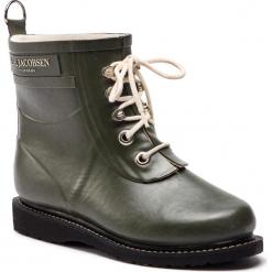 Kalosze ILSE JACOBSEN - RUB2 Army 41. Brązowe buty zimowe damskie marki Alma en Pena, z materiału, na obcasie. W wyprzedaży za 409,00 zł.