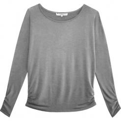 """Sweter """"Bambou Style"""" w kolorze szarym. Szare swetry klasyczne damskie marki Ateliers de la Maille, z okrągłym kołnierzem. W wyprzedaży za 136,95 zł."""