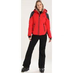 Spyder TWILIGHT Kurtka narciarska red/black. Czerwone kurtki damskie narciarskie Spyder, z materiału. W wyprzedaży za 1616,30 zł.