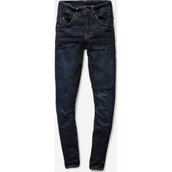 G-Star Raw - Jeansy Arc 3D. Niebieskie jeansy damskie marki G-Star RAW, z bawełny. W wyprzedaży za 479,90 zł.