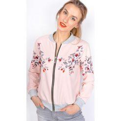 Bluzy damskie: Lekka bluza w kwiatki