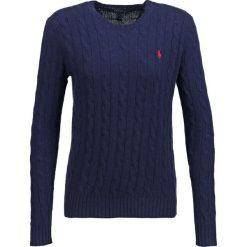 Polo Ralph Lauren JULIANNA Sweter hunter navy. Niebieskie swetry klasyczne damskie Polo Ralph Lauren, l, z kaszmiru, polo. Za 539,00 zł.