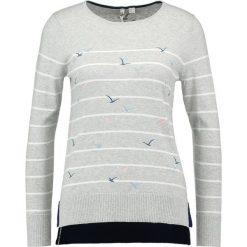 Swetry klasyczne damskie: White Stuff FLOCKING BIRDS Sweter silver gre