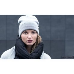 Ciepła wełniana czapka Nox Cap. Szare czapki damskie Pakamera, z wełny. Za 209,00 zł.