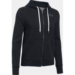 Bluzy sportowe damskie: Under Armour Bluza damska Favorite Fleece FZ czarna r.S (1298415-001)