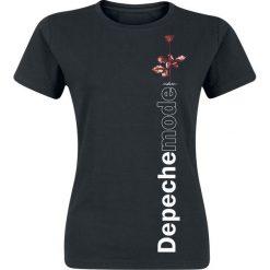 Depeche Mode Violator Side Rose Koszulka damska czarny. Czarne bluzki asymetryczne Depeche Mode, l. Za 74,90 zł.
