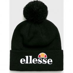 Ellesse - Czapka. Czarne czapki zimowe męskie Ellesse, z dzianiny. Za 99,90 zł.