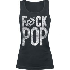 Topy damskie: Five Finger Death Punch Fuck Pop Top damski czarny