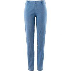 """Dżinsy """"SKINNY"""" bonprix niebieski """"bleached"""" nowy. Niebieskie jeansy damskie marki bonprix, z jeansu. Za 44,99 zł."""