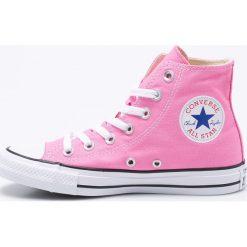 Converse - Trampki. Różowe trampki i tenisówki damskie marki Converse, z gumy. Za 299,90 zł.