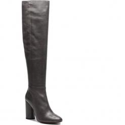 Muszkieterki MARELLA - Tamigi 67960586 003. Szare buty zimowe damskie Marella, z materiału, przed kolano, na wysokim obcasie. Za 1629,00 zł.