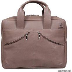 Torebka skórzana JO 00-201-0404-E20-02910. Brązowe torby na ramię męskie marki Kazar, ze skóry, przez ramię, małe. Za 599,00 zł.